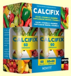 Calcifix - Novity - 30 + 30 comprimits