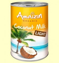Llet de Coco Light Bio - Amaizin - 400 ml