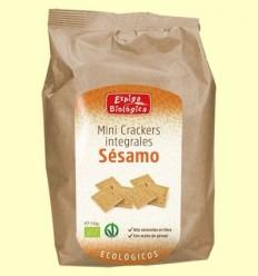 Minicrackers Integrals Sèsam Eco - Espiga Biológica - 150 grams