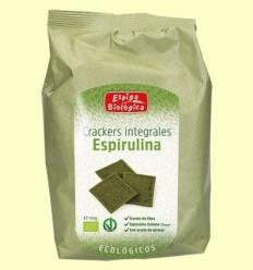 Crackers Integrals espirulina Eco - Espiga Biológica - 150 grams