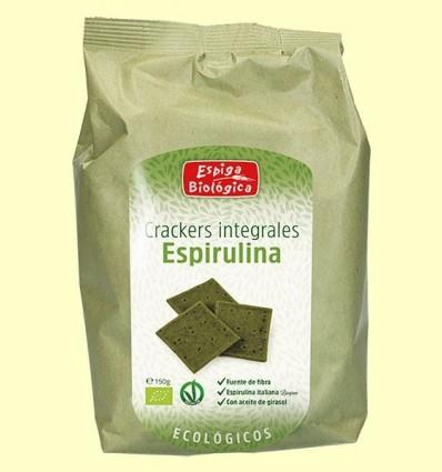 Crackers Integrals espirulina Eco - Espiga Biológica - 150 grams *
