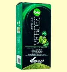 Barreja de Verds Bio - Soria Natural - 80 grams