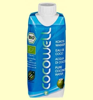 Cocowell Bio - Aigua de Coco - 100% Natural - 330 ml *