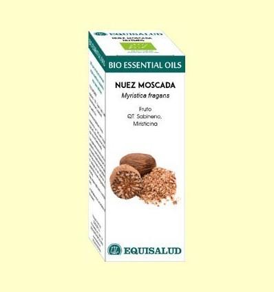 Oli Essencial Bio de Nou Moscada - Equisalud - 10 ml