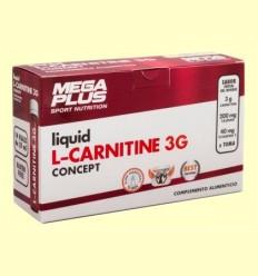 L-Carnitina Liquida Concept - Mega Plus - 14 ampolles