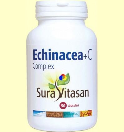 Echinacea + C Complex - Vitamina C - Sura Vitasan - 50 càpsules