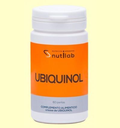 Ubiquinol 50 mg - Nutilab - 60 perles