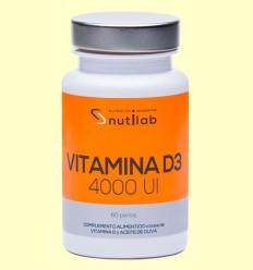 Vitamina D3 4000 UI - Nutilab - 60 perles