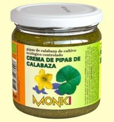 Crema de Llavors de Carbassa Bio - Monki - 330 grams