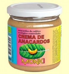 Crema de Anacards Bio - Monki - 330 grams