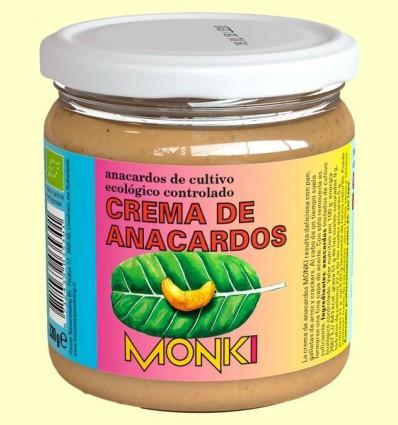 Crema de Anacards Bio - Monki - 330 grams