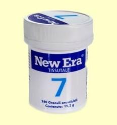 Sal de Schüssler Nº7 - Fosfat de Magnesi - New Era - 240 comprimits