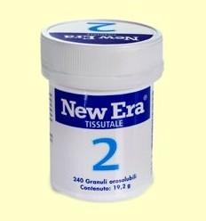 Sal de Schüssler Nº2 - Fosfat de Calci - New Era - 240 comprimits