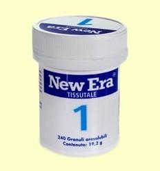 Sal de Schüssler Nº1 - Fluorur de Calci - New Era - 240 comprimits