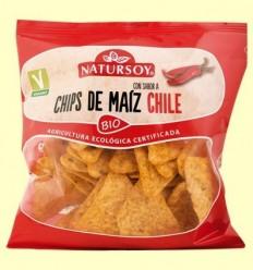 Xips de Blat de moro Xile Bio - Natursoy - 75 grams