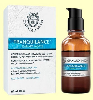 Tranquilance canapa Notte - Gianluca Mech - 20 ml