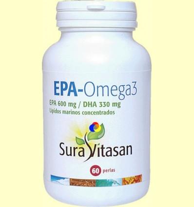 Epa - Omega 3 - Sura Vitasan - 60 perles
