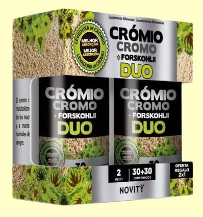 Crom + Forskohlii Duo - Novity - 60 comprimits