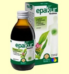 Epakur NeoDetox Xarop - Planta Mèdica - 300 grams