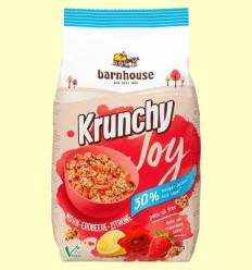 Muesli Krunchy Joy de Civada Rosella Maduixa Llimona - Barnhouse - 375 grams