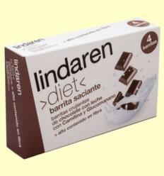 Barretes saciants Carnitina Glucomanano - Lindaren diet - 4 barritas