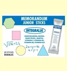 Memoràndum Junior Sticks - Integralia - 20 estics