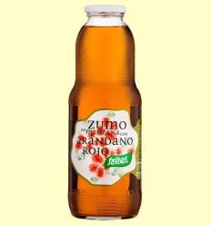 Suc de Poma amb Nabiu Vermell - Santiveri - 1 litre
