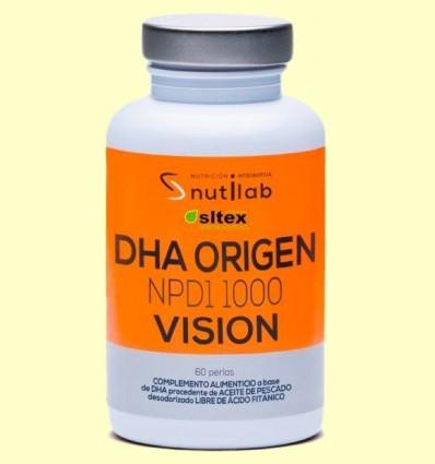 DHA Origen NPD1 1000 Vision - Nutilab - 60 perles