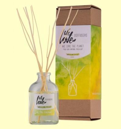 Difusor d'Olis Essencials Light Lemongrass - We Love the Planet - 50 ml