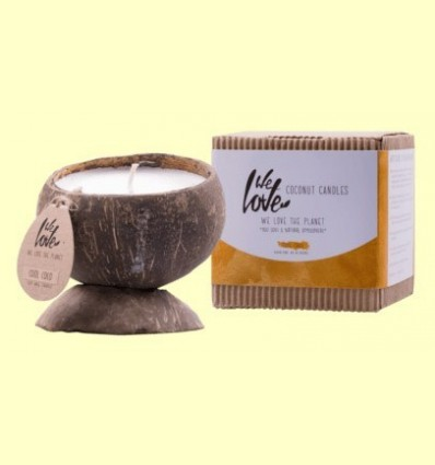 Vela de Cera de Soja Cocconut Candle Cool Coco - We love the planet - 1 unitat