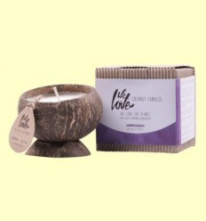 Vela de Cera de Soja Cocconut Candle Chesnut - We love the planet - 1 unitat