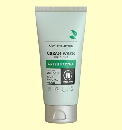 Sabó en Crema Matcha Bio - Urtekram - 180 ml