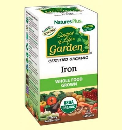 Garden Ferro - Natures Plus - 30 càpsules