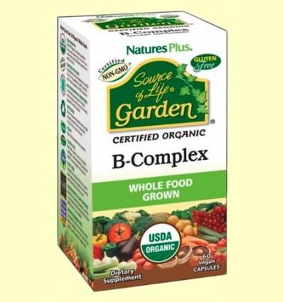 Garden B Complex - Natures Plus - 60 càpsules
