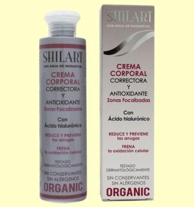 Crema Corporal Correctora Antioxidant - Shilart - 200 ml