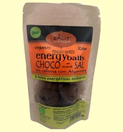 Bio Energy Ball Choco amb Sal de l'Himàlaia - Dàlit Natura - 120 grams