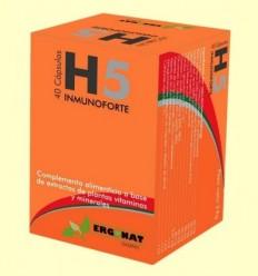 H5 Inmunoforte - Ergonat - 40 càpsules