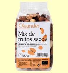 Mix de Fruits Secs Bio - Oleander - 200 grams
