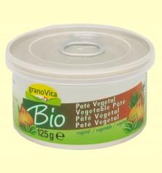 Paté Vegetal Bio - El Granero - 125 grams