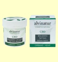 Bàlsam CBD Tattoo Bio - Alvinatur - 100 ml