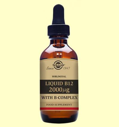 Vitamina B12 líquida sublingual - Solgar - 59 ml