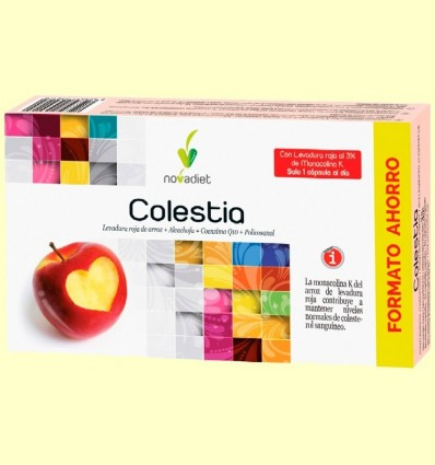 Colestia - Colesterol - Novadiet - 60 càpsules
