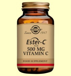 Ester C Plus 500 mg - Vitamina C - Solgar - 250 càpsules vegetals