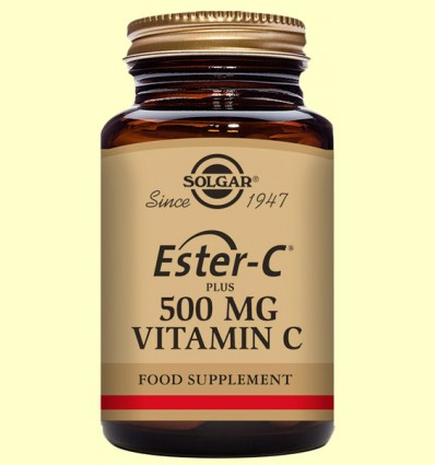 Ester C Plus 500 mg - Solgar - 50 càpsules vegetals