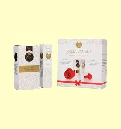 Crema de Nit i Contorn d'Ulls - Age Protection Premium setembre - Schüssler - 50 ml + 15 ml