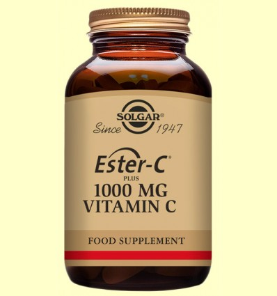Ester C Plus 1000 mg - Vitamina C - Solgar - 180 comprimits *