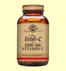 Ester C Plus 1000 mg - Vitamina C - Solgar - 90 comprimits