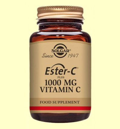 Ester C Plus 1000 mg - Vitamina C - Solgar - 30 comprimits