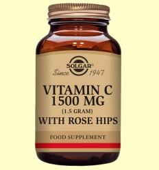 Rose Hips C 1500 mg - Vitamina C - Solgar - 180 comprimits