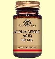 Àcid Alfa Lipoic 60 mg - Solgar - 30 càpsules vegetals